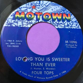 Four Tops-Loving you is sweeter than ever-Motown E