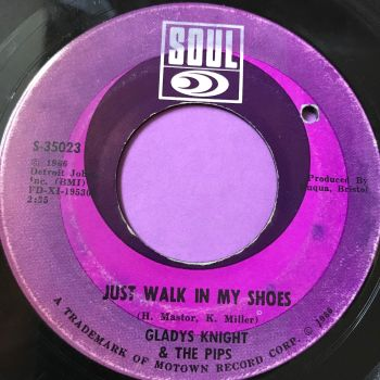 Gladys Knight-Just walk in my shoes-Soul vg+