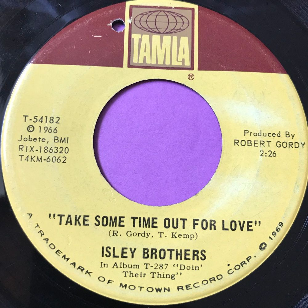 Isley Brothers-Take some time out for love-Tamla E+