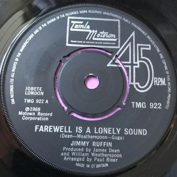 Jimmy Ruffin-Farewell is a lonely sound-TMG 922 E+
