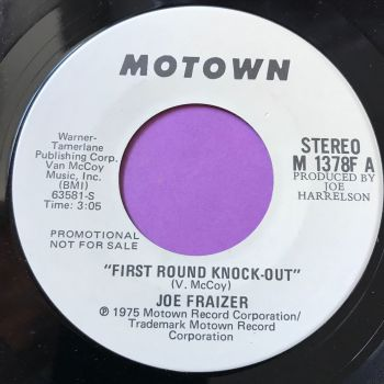 Joe Frazier-First round knockout-Motown WD E+