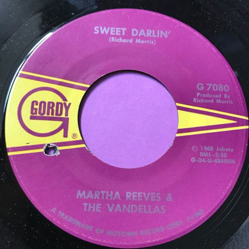 Martha Reeves-Sweet darlin'-Gordy E+