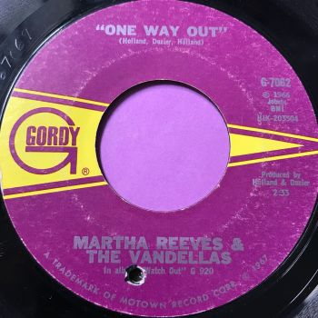 Martha Reeves-One way out-Gordy vg+
