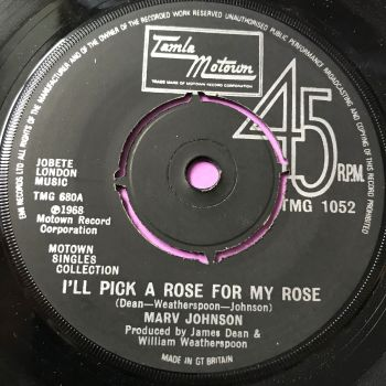 Marv Johnson-I'll pick a rose for my rose-TMG 1052 E