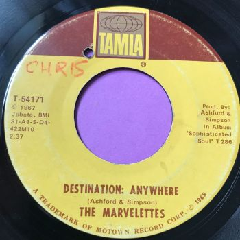 Marvelettes-Destination anywhere-Tamla wol E
