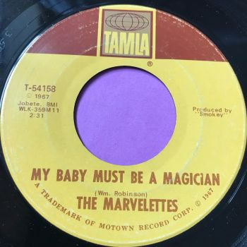 Marvelettes-My baby must be a magician-Tamla E