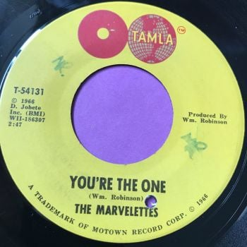 Marvelettes-You're the one-Tamla wol E