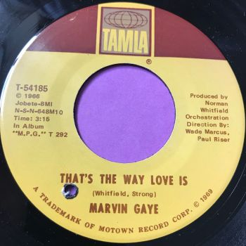 Marvin Gaye-That's the way love is-Tamla E+