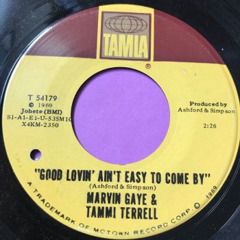 Marvin and Tammi-Good lovin' ain't easy to come by-Tamla E+