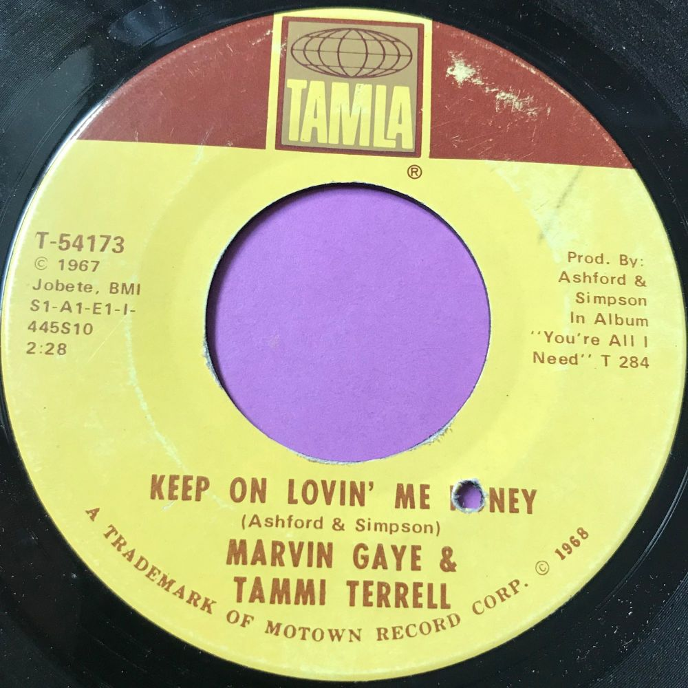 Marvin and Tammi-Keep on lovin' me honey-Tamla E+