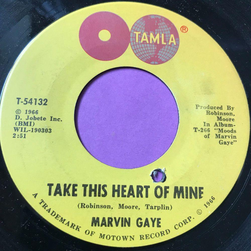 Marvin Gaye-Take this heart of mine-Tamla E+
