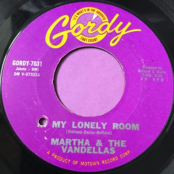 Martha Reeves-In my lonely room-Gordy E+