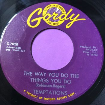 Temptations-The way you do the things you do-Gordy E