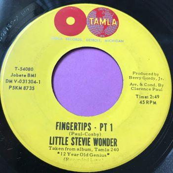 Stevie Wonder-Fingertips Pt1 -Tamla E+