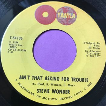 Stevie Wonder-Ain't that asking for trouble-Tamla E+