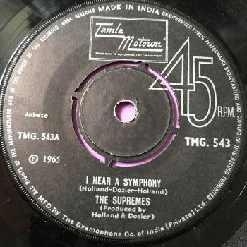 Supremes-I hear a symphony-Indian TMG 543 E+