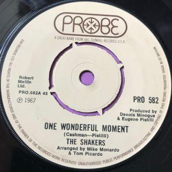 Shakers-One wonderful moment-UK Probe E