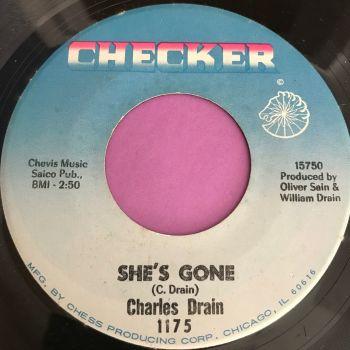 Charles Drain-She's gone-Checker E+
