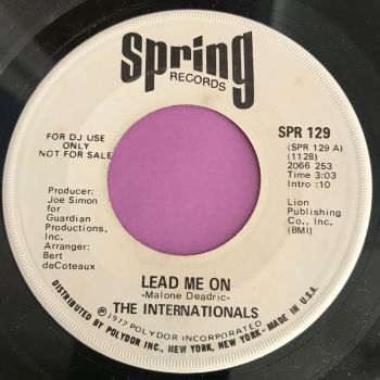 Internationals-Lead me on-Spring WD E+