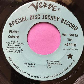 Penny Carter-We gotta try harder-Verve Demo E