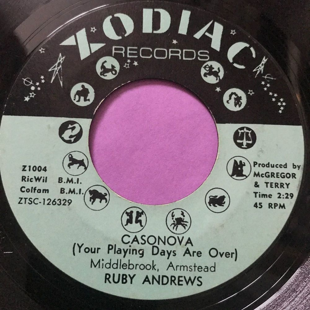 Ruby Andrews-Casanova-Zodiac E+