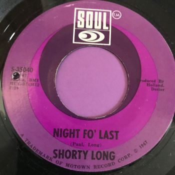 Shorty Long-Night fo' last-Soul E+