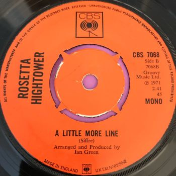 Rozetta Hightower-A little more line-UK CBS E+