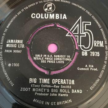 Zoot Money's Big Roll Band-Big time operator-UK Columbia vg+