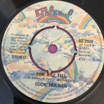 Eddie Holman-Time will tell/This could be...-UK Salsoul E