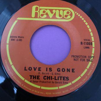 Chi-Lites-Love is gone-Revue E+