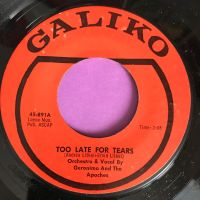 Geronimo and the Apaches-Oh yes baby I love you so-Galiko E+
