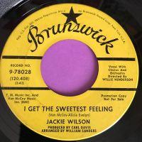Jackie Wilson-I get the sweetest feeling-Brunswick Demo vg+