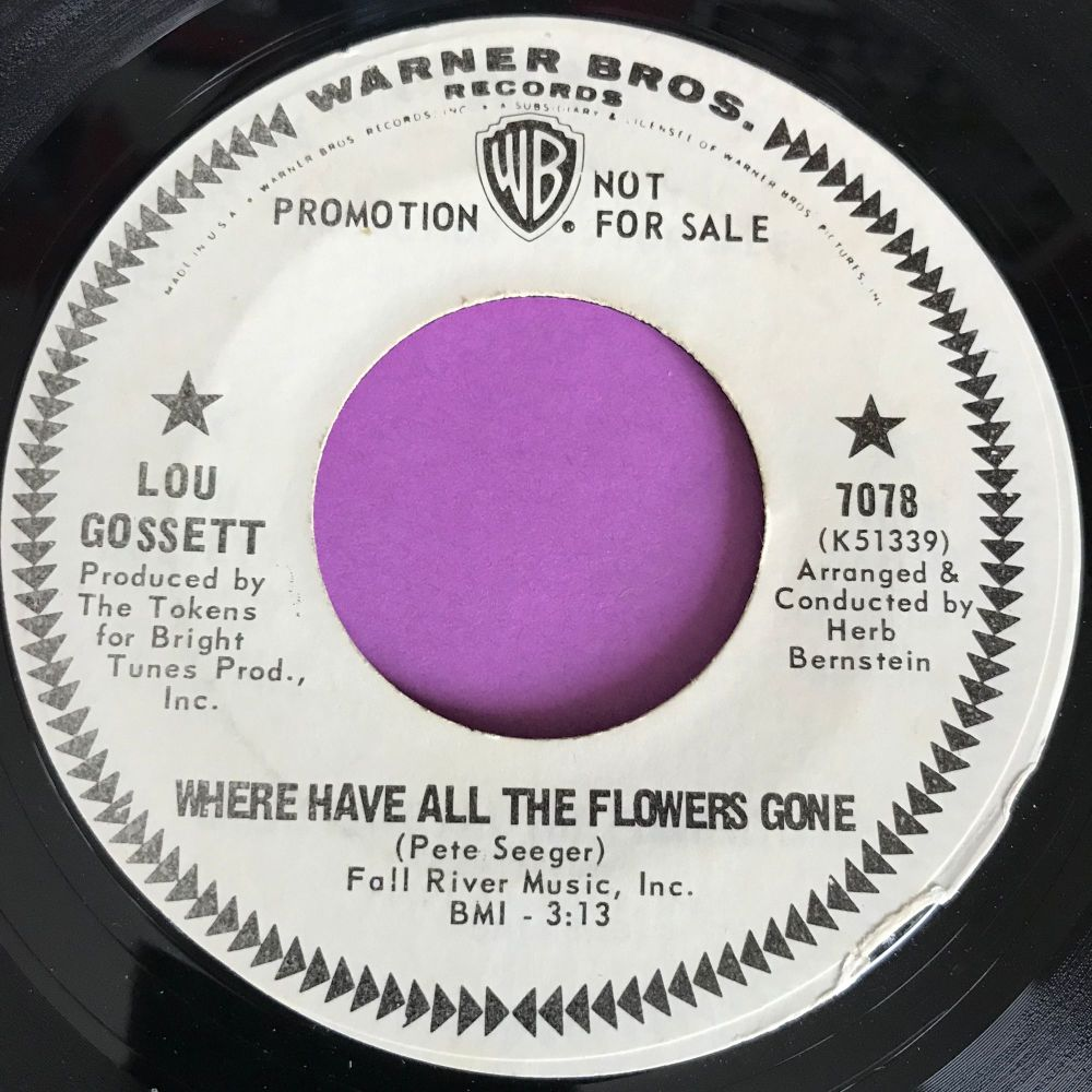 Lou Gossett-Where have all the flowers gone-WB WD E+