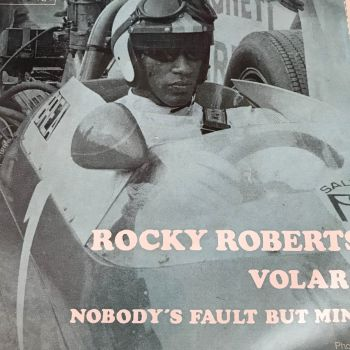 Rocky Roberts-Nobody's fault but mine-French Durium PS E+