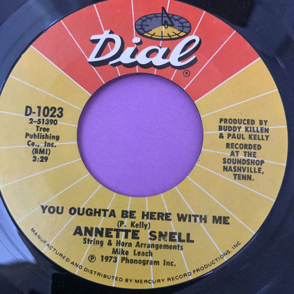 Annette Snell-You ought to be here with me-Dial E+