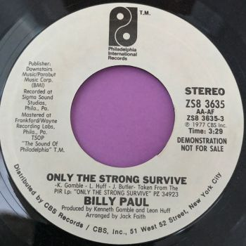 Billy Paul-Only the strong survive PIR WD M-