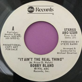 Bobby Bland-It ain't the real thing-ABC WD E