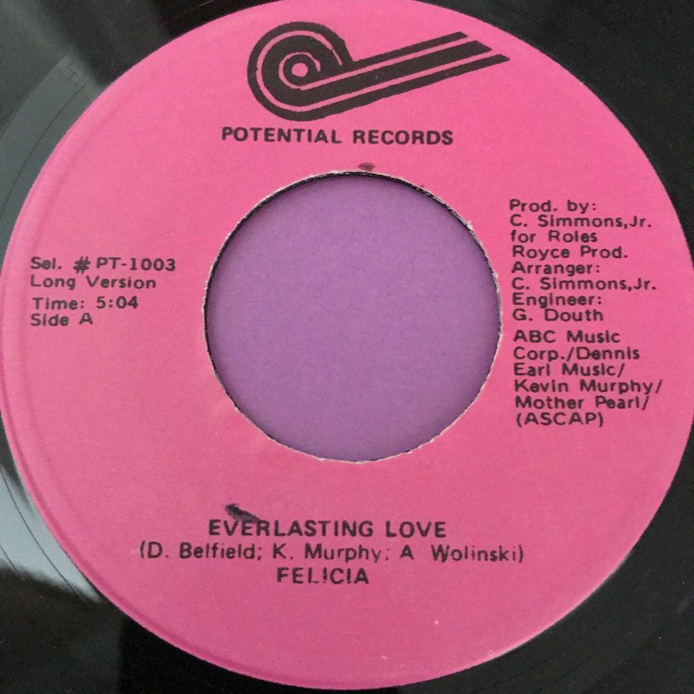 Felicia-Everlasting love-Potential E+
