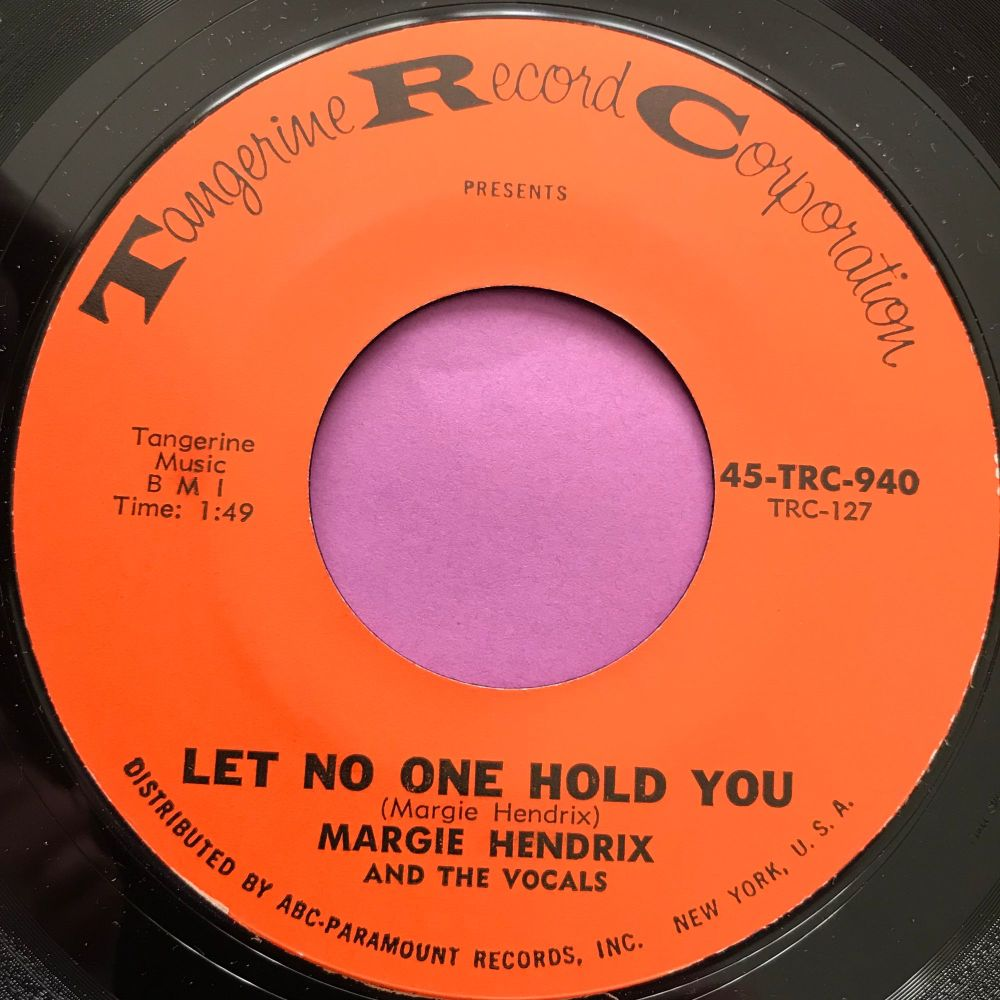 Margie Hendrix-Let no one hold you-TRC E+