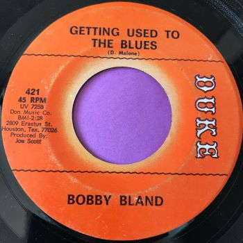 Bobby Bland-Getting used to the blues-Duke vg+