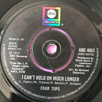 Four Tops-I can't hold on much longer-UK ABC E+