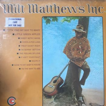Milt Matthews-Milt Matthews Inc-Commonwealth LP Still Sealed