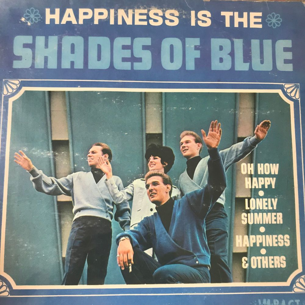Shades of Blue-happiness is-Impact LP E