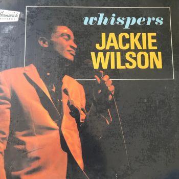 Jackie Wilson-Whispers-Brunswick LP E+