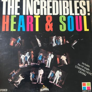 Incredibles-Heart & Soul-Audio Arts LP E+