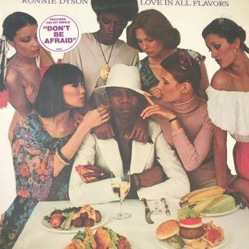 Ronnie Dyson-Love in all flavors-CBS LP E+
