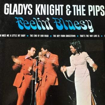 Gladys Knight-Feelin' bluesy-Soul LP E+