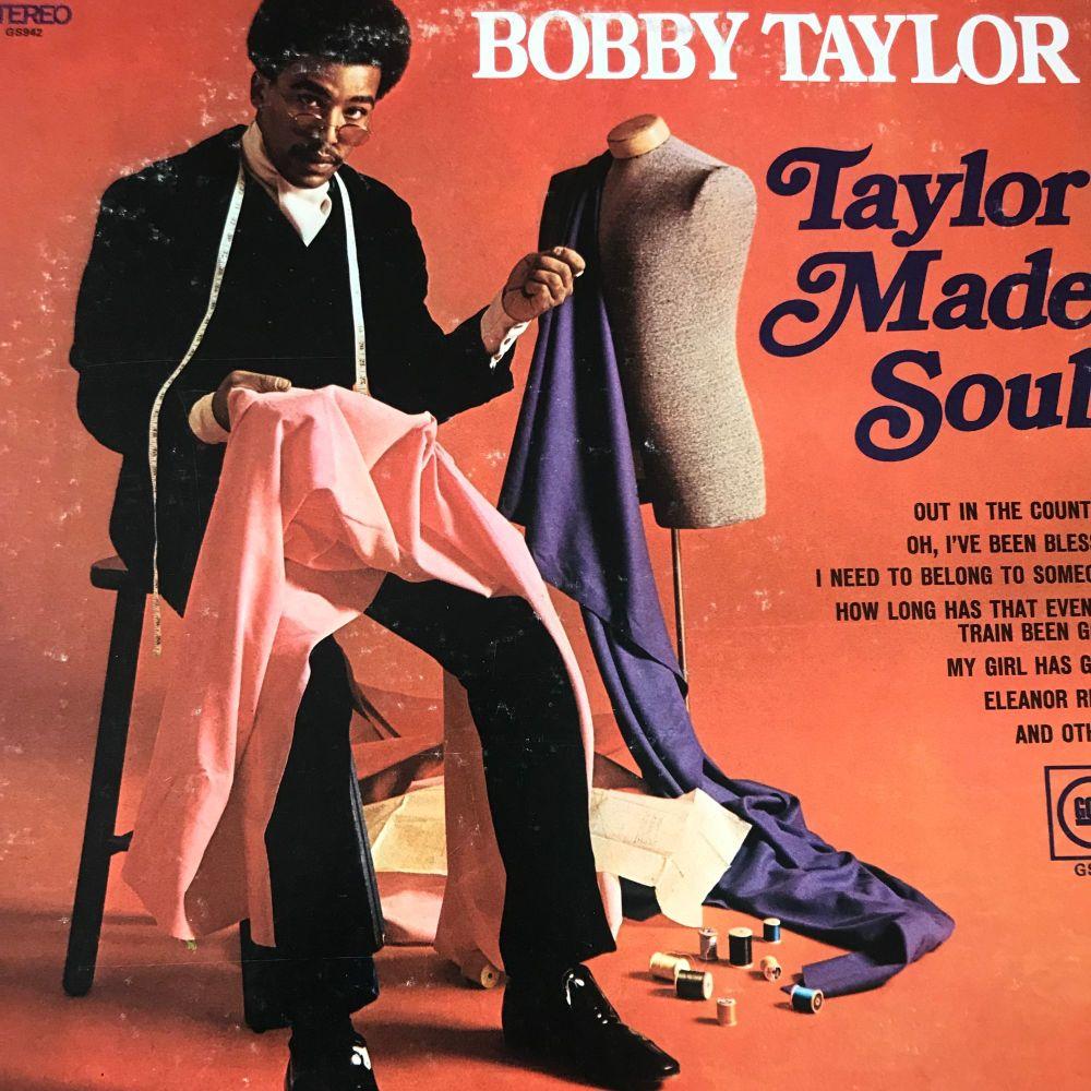 Bobby Taylor-Taylor made soul- Gordy LP E+