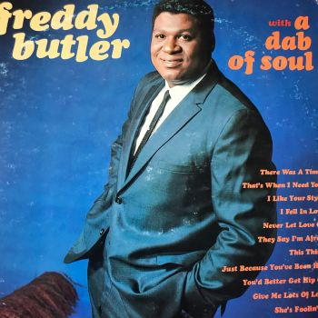 Freddy Butler-With a dab of soul-Kapp WD E+