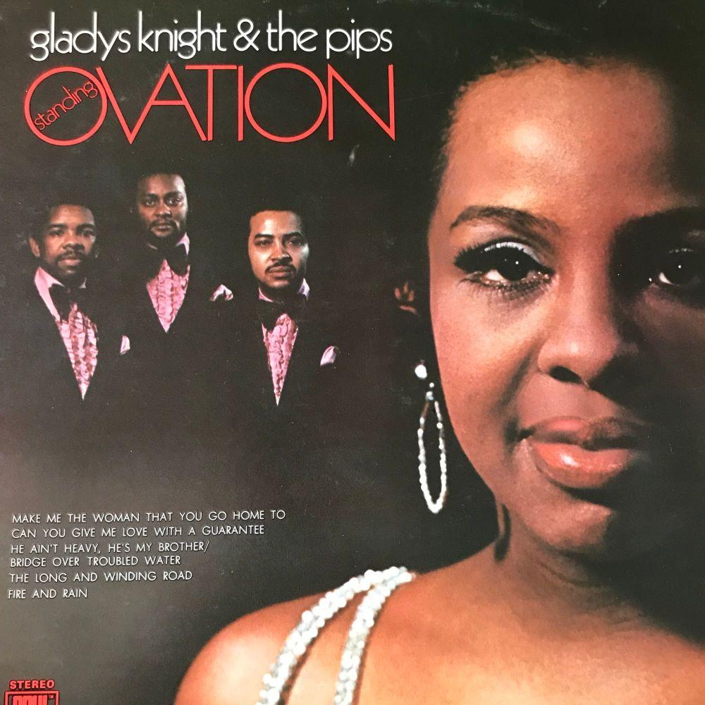 Gladys Knight-Ovation-Soul LP E+